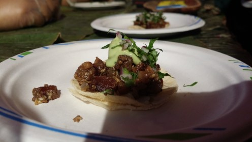 Filipino-Style Snout-to-Tail Pork Sisig Tacos