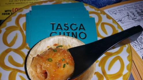 shrimp dumpling garlic sundried tomato paprika