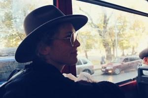Fahrt mit der Straßenbahn
