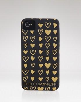 Rebecca Minkoff iPhone 4 Case Heart Doodle