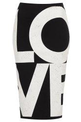 Topshop Love Tube Skirt