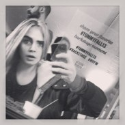 """cara delevingne """"#TOMMYFALL13 #NYFW show number 4"""""""