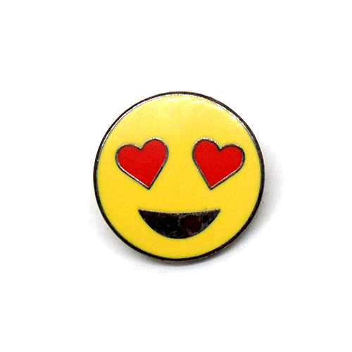 Love Smiling Face With Heart Shaped Eyes Heart Emoji Pinmaze