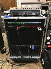 Mobile 8 channel wireless microphone rack for ISU Memorial Union