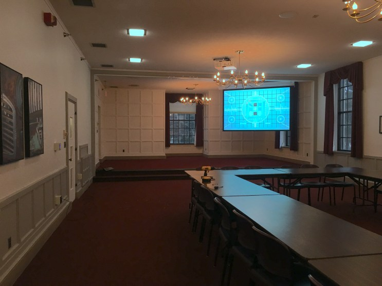 Single Screen Projector for the Iowa State Memorial Union
