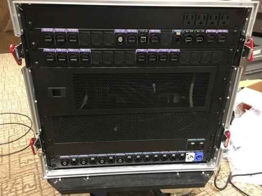 I/O panels for ISU Memorial Union video rack