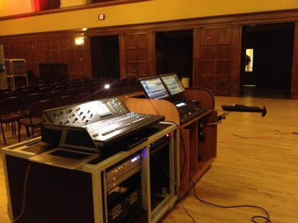 Mobile audio and lighting consoles for ISU Memorial Union ballrooms