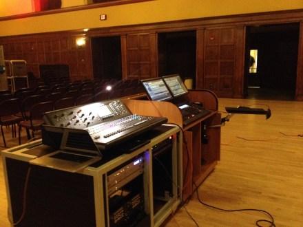 Mobile audio and lighting consoles for ISU Memorial Union ballrooms