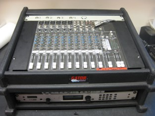 Mobile two-way remote broadcast unit for 88.5 KURE