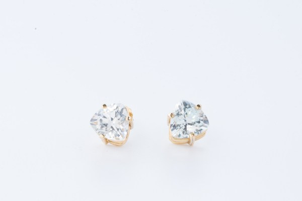 Trillion Topaz Earrings
