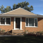 A single story brick home that we inspected in Parma, OH.