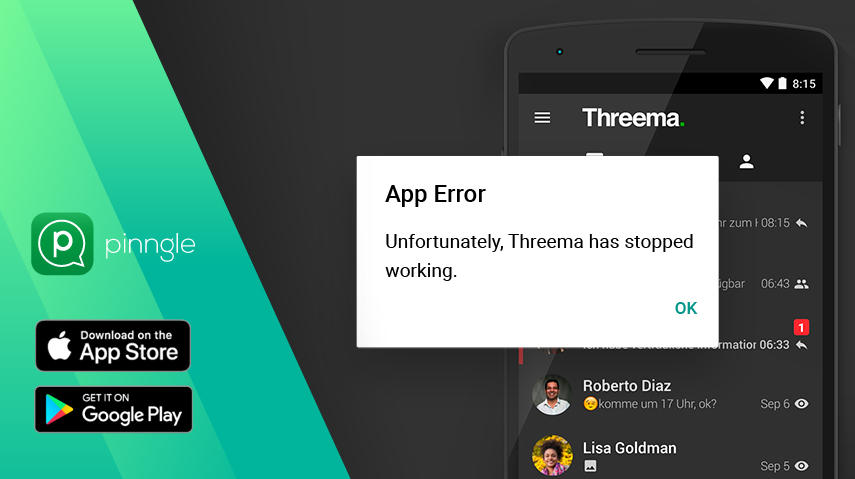 Threema not working