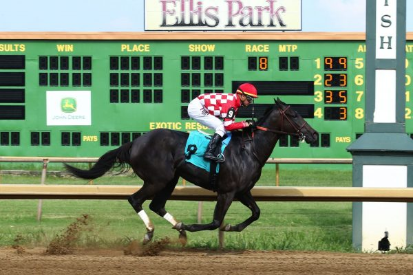 SERENGETI EMPRESS Rules Ellis Park Debutante by 13 1/2 Lengths