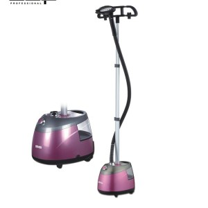DSP High quality adjustable hanging vertical clothing steamer home professional steam ironing machine 1 8kW 220