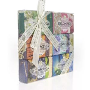 nesti dante soaps gift set philosophia collection 6x 150g 2