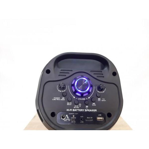 Boks me Bluetooth 1200W CH 6601 3