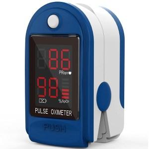 Mates Oksigjeni ne Gjak Fingertip Pulse Oximeter ClinicalGuard® CMS 50DL 1 1