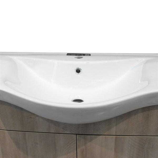 Mobilje tualeti LUNA 80 DROP melamine gri 224356 1