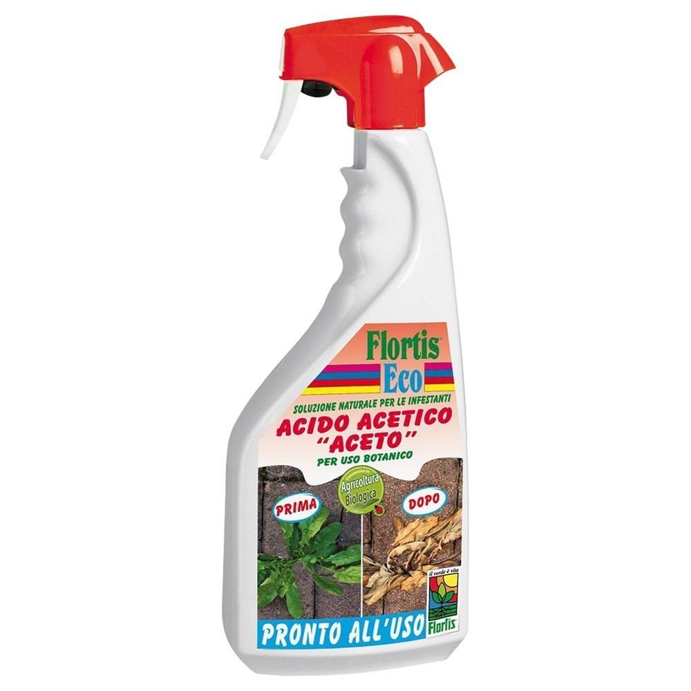 Acid acetik i fortifikuar Flortis shishe 1000 ml per te eleminuar barerat e keqinj 331731