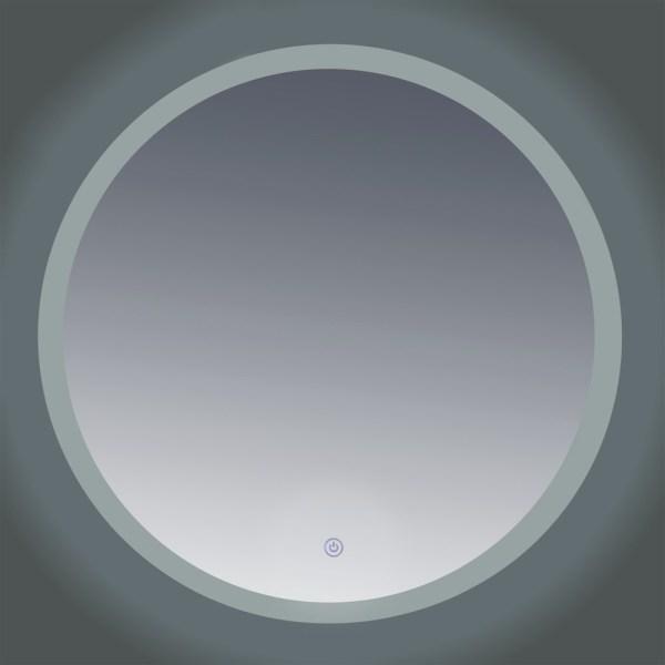 Pasqyre me LED 80x80 cm ndezjafikja me prekje 222151 2