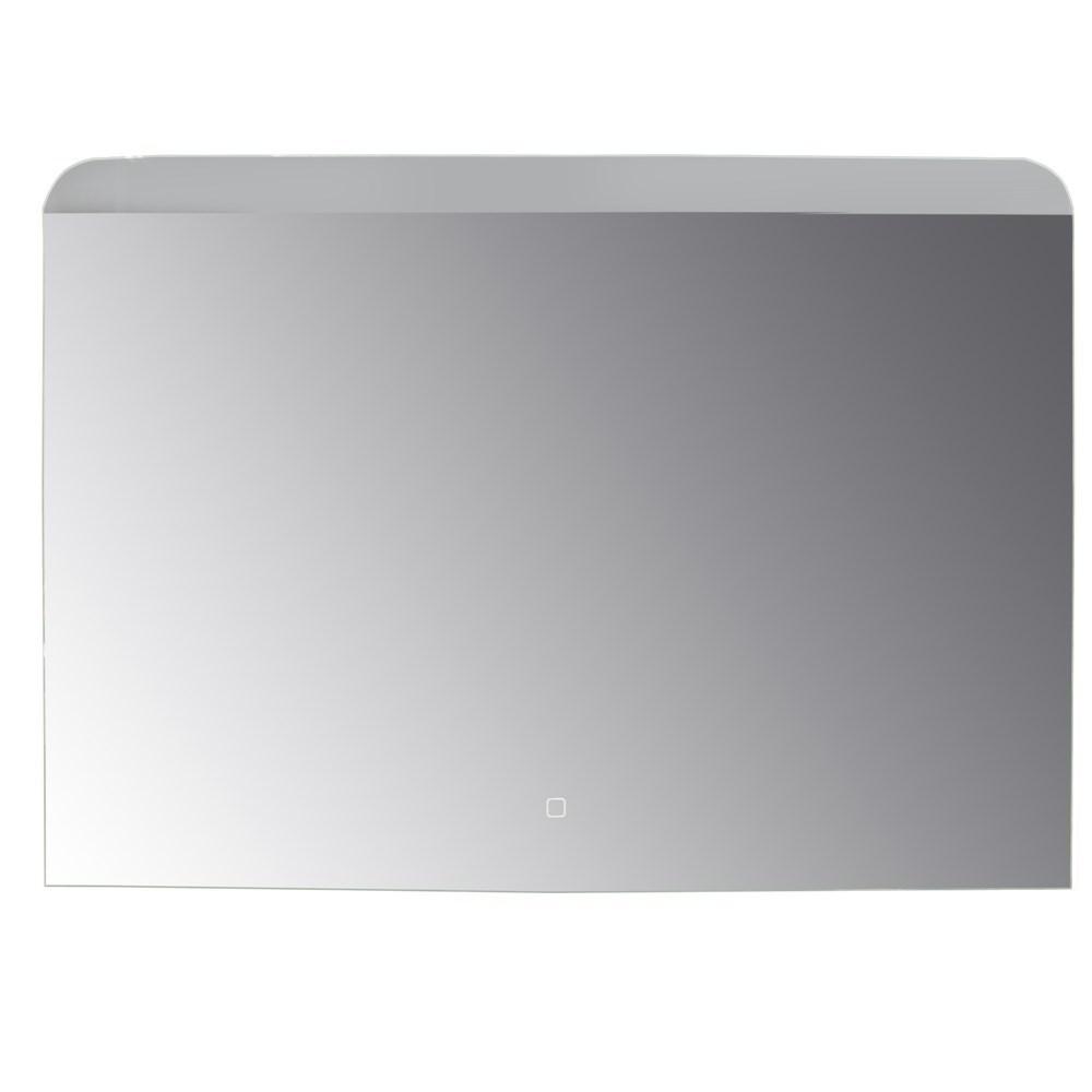 Pasqyre me ndricim LED kornize akrilik alumini 6500K 4 mm 100x70 cm 224088 1