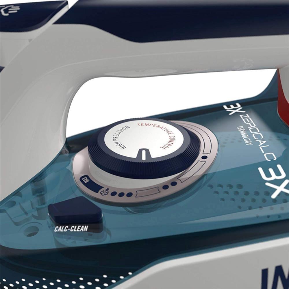 iron imetec 9246 2400w power 220 240v 300ml tank 150gmin stream stainless steel tile eco tecnology 3x zerocalc anti cure technology 3