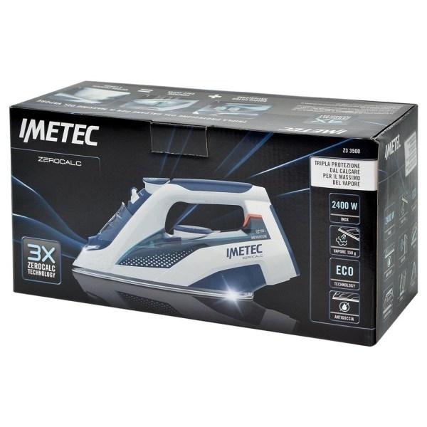 iron imetec 9246 2400w power 220 240v 300ml tank 150gmin stream stainless steel tile eco tecnology 3x zerocalc anti cure technology 5