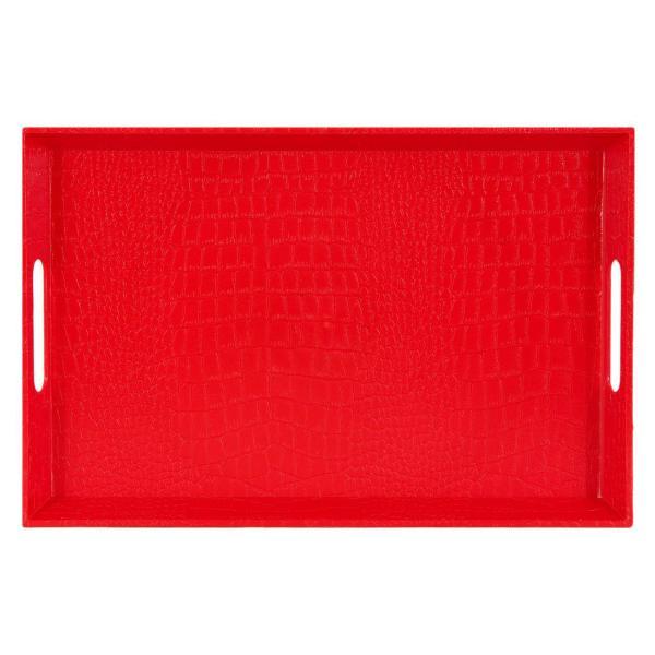 Tabaka Servirje Lekure e Kuqe 38x25x3.5cm 1160859