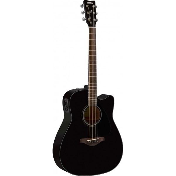 yamaha fgx800c bl electric acoustic guitar