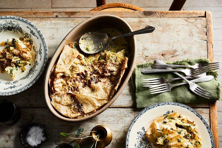 Lavash, Chicken & Herb Pie withBarberries Recipe