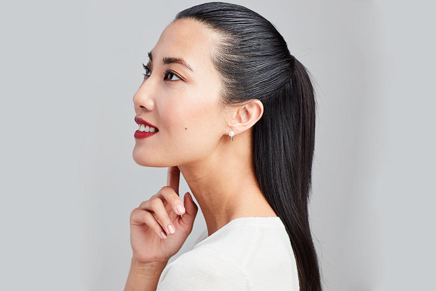 How To Get An Effortless Half-Up, Half-Down Hairstyle