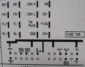 Opel CD30 MP3 Head Unit pinout diagram @ pinoutguide