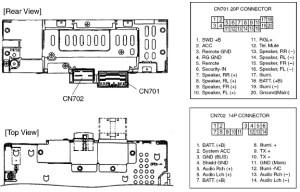 Honda CQEH1360 pinout diagram @ pinoutguide