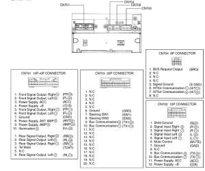Toyota W58810 Head Unit pinout diagram @ pinoutguide