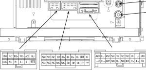 Toyota P3914 head unit pinout diagram @ pinoutguide
