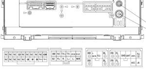 Toyota P7809 Head Unit pinout diagram @ pinoutguide