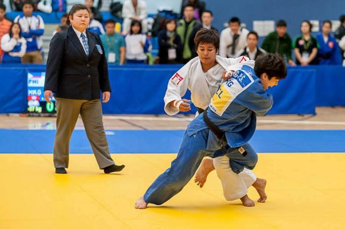 Philippines vs Hong Kong in the 57kg Category
