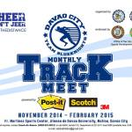 Davao City Blue Knights Monthly Track Meet (results)