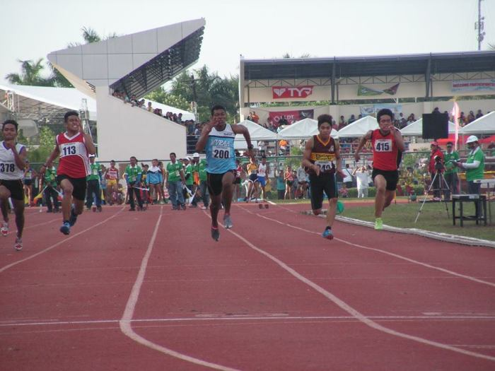Boys 100m Manjares not pictured. Photo Credit: Airnel T. Abarra copyright 2015 pinoyathletics.info