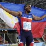 Cray milestone first Filipino win 100 SEA Games