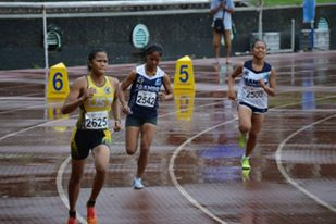 The war face of Dequinan of UST.