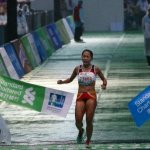 Tabby takes Half Marathon in Hong Kong