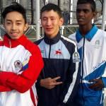 Josh Buenavista ,Bertek son continues family legacy Children of Asia meet Yakutsk Silver Steeples