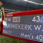 Van Niekirk breaks record of the Great Michael Johnson in Lane 8 (Video)