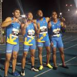 Eric Cray and his buddies set a new national record in 4×100