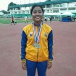 2017 Palaro Kate Julienne Martinez shatters Palaro Record in Elementary Discus, 400H and LJ Boys