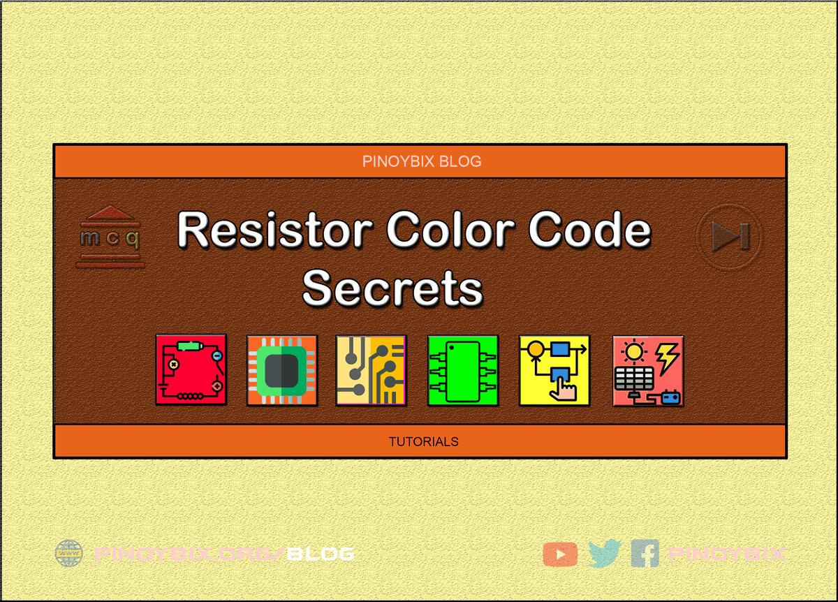 Resistor Color Code Secrets