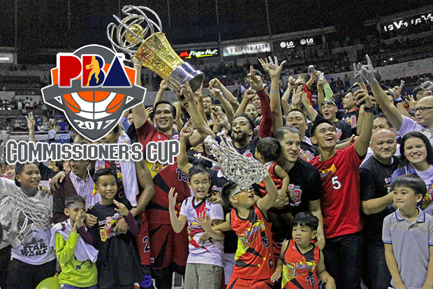 San Miguel Beermen is the 2017 PBA Commissioner's Cup Champion