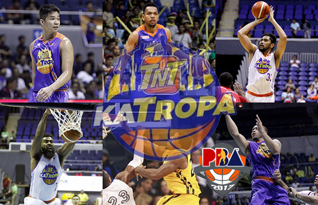 Talk 'N Text KaTropa Texters Roster - 2017 PBA Governor's Cup