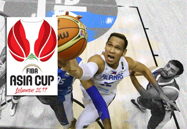 Gilas Pilipinas 2017 FIBA Asia Cup Schedule